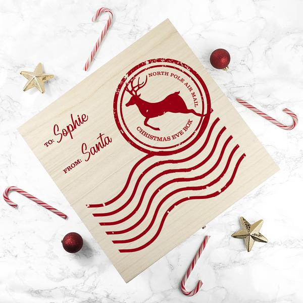 north pole special delivery personalised christmas eve gift box - Does Mail Get Delivered On Christmas Eve